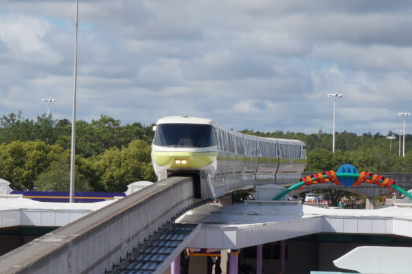 Some of the deluxe resorts have monorail access that makes getting to the parks really easy!