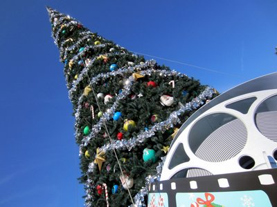 Entrance Tree - Christmas at Diseny's Hollywood Studios