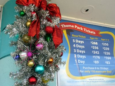 Ticket Booths - Christmas at Diseny's Hollywood Studios