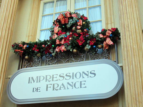 Learn about Christmas traditions from around the world at Epcot.
