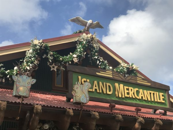 The Island Mercantile store has garland and animal decorations as well.