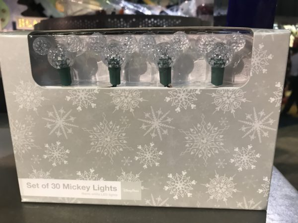 Mickey Mouse Christmas lights - $34.99