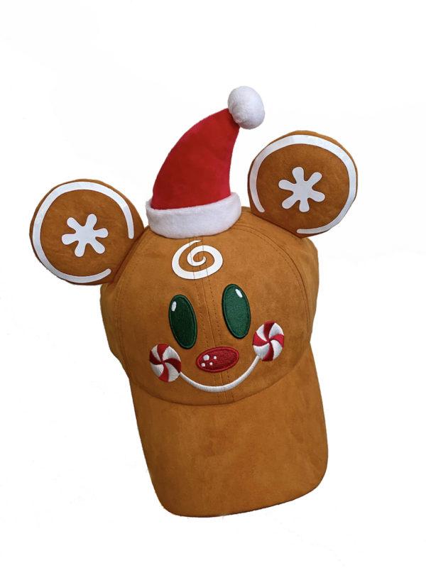 Gingerbread baseball cap. Photo credits (C) Disney Enterprises, Inc. All Rights Reserved