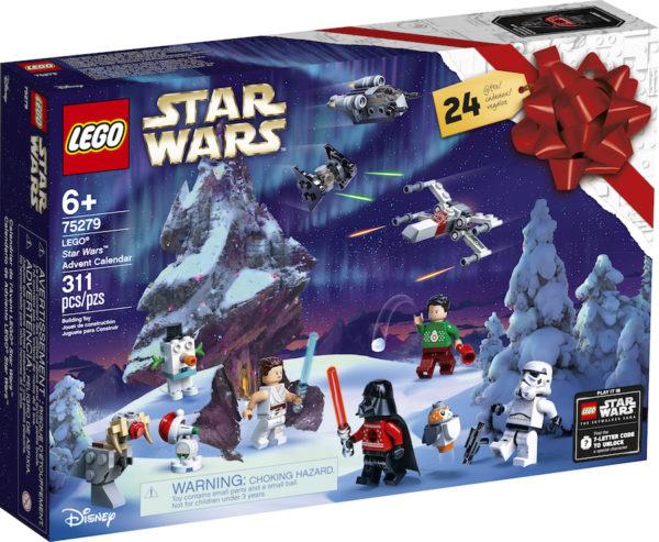 LEGO Advent Calendar. Photo credits (C) Disney Enterprises, Inc. All Rights Reserved