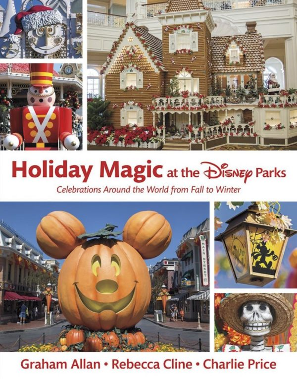 Holiday Magic at the Disney Parks hardcover book. Photo credits (C) Disney Enterprises, Inc. All Rights Reserved