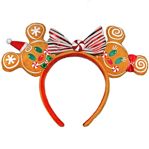 Minnie Mouse ears with gingerbread. Photo credits (C) Disney Enterprises, Inc. All Rights Reserved