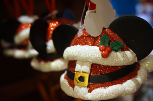 I like this Mickey-themed ornament.