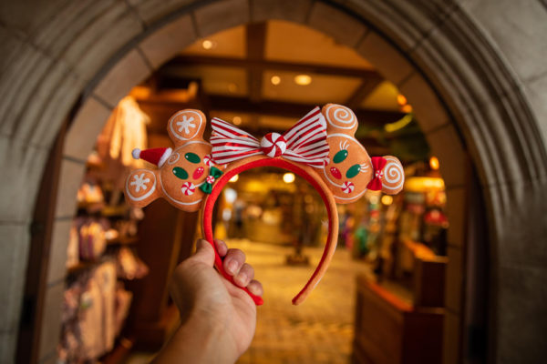 Gingerbread people ears. Photo credits (C) Disney Enterprises, Inc. All Rights Reserved