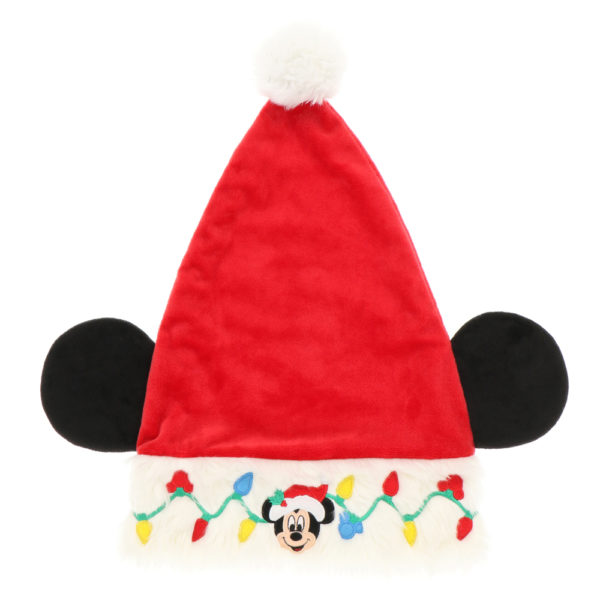 Santa Mickey hat. Photo credits (C) Disney Enterprises, Inc. All Rights Reserved