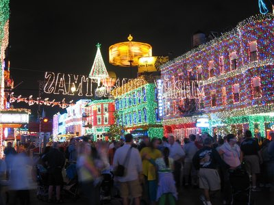 The Osborne Lights are popular and impressive.