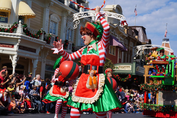 The Disney Christmas Day Parade is a tradition for many families.