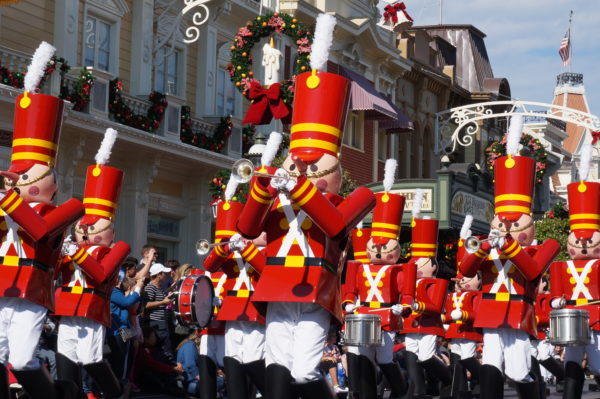 Christmas Day Parade.Disney Parks Magical Christmas Day Parade To Record On