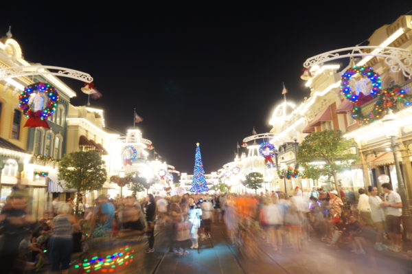 Main Street is stunning at Christmastime!