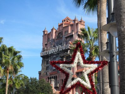 Stars Christmas at Diseny's Hollywood Studios