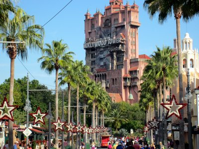 Street Of Stars - Christmas at Diseny's Hollywood Studios
