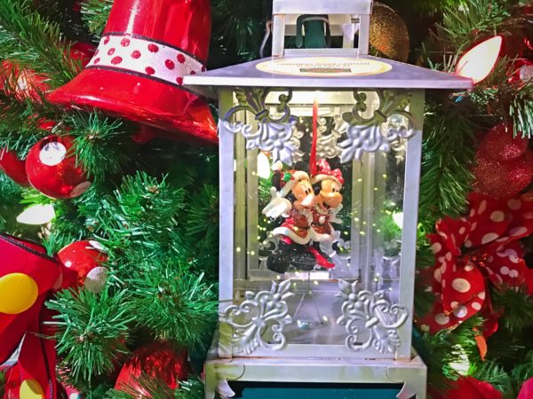You can't have a Disney Themed Tree without a ornament featuring Mickey and Minnie!