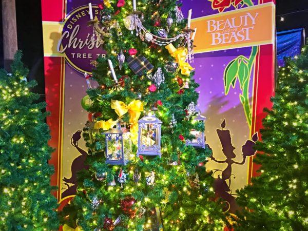 Beauty and The Beast themed Christmas Tree.