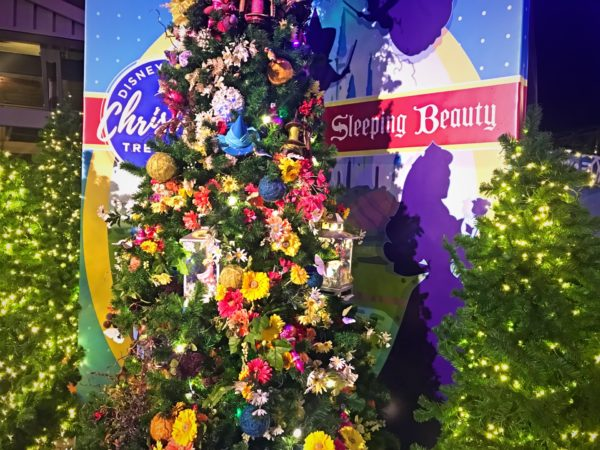 Sleeping Beauty themed Christmas Tree.