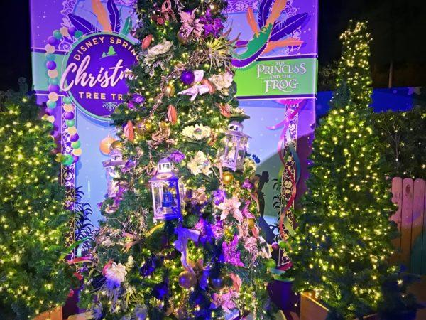 Princess and The Frog themed Christmas Tree.