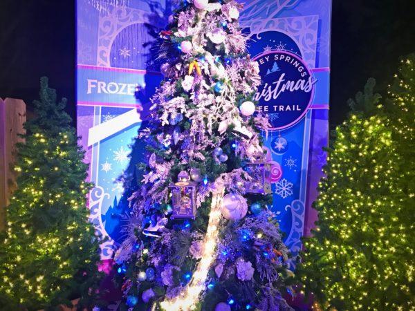 Frozen themed Christmas Tree.