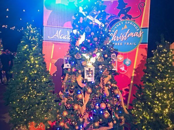Aladdin themed Christmas Tree.