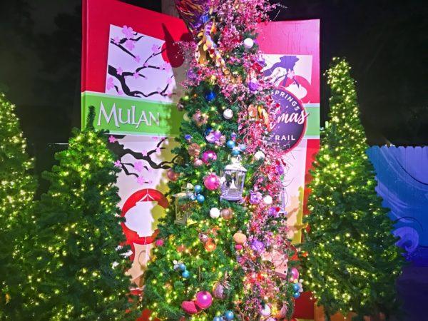 Mulan themed Christmas Tree.
