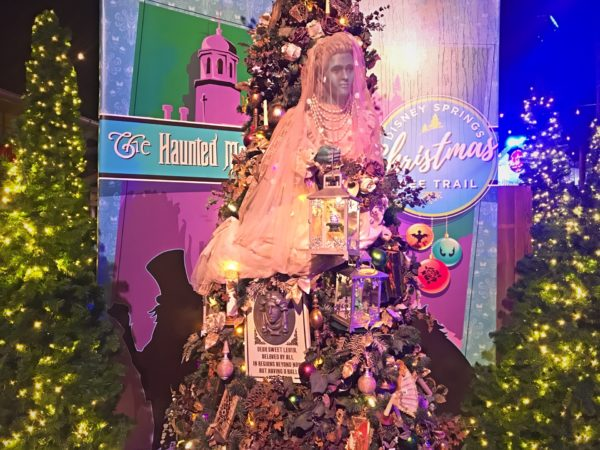 Haunted Mansion themed Christmas Tree.