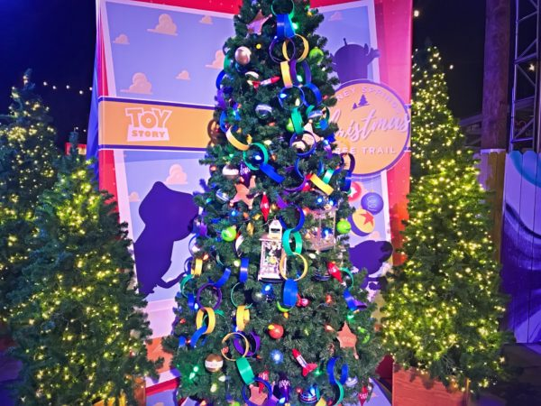 Toy Story themed Christmas Tree.