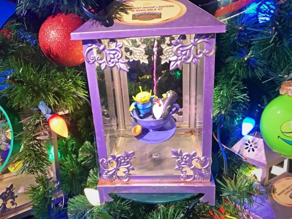 Check out these cute little guys hanging out on the Toy Story themed tree.