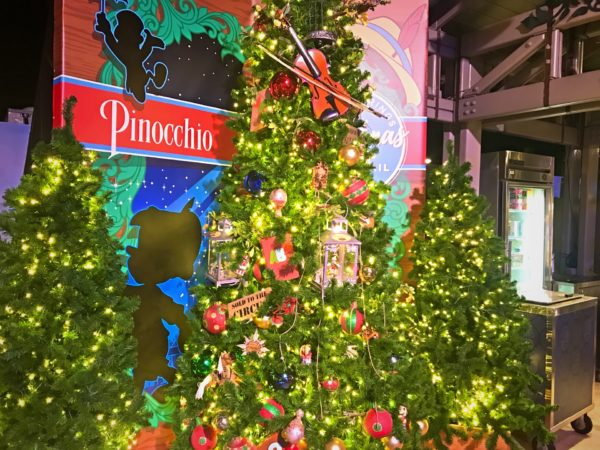 Pinocchio themed Christmas Tree.
