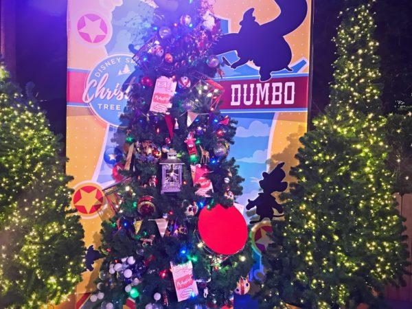 Dumbo themed Christmas Tree.