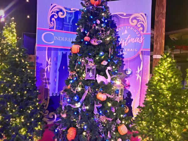 Cinderella themed Christmas Tree.