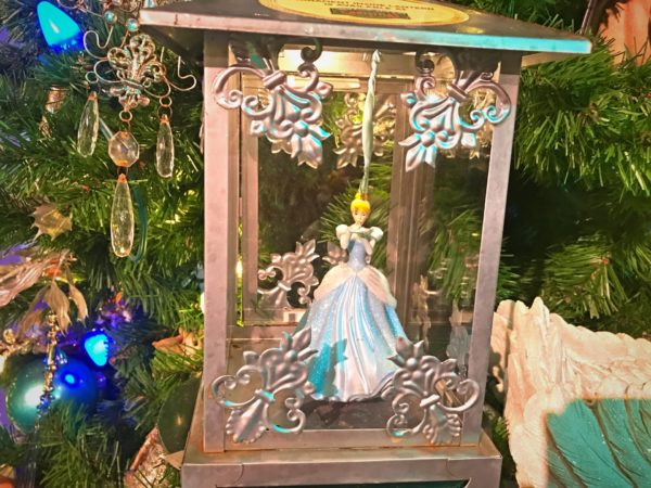 Beautiful Cinderella dressed in her ball gown ornament.