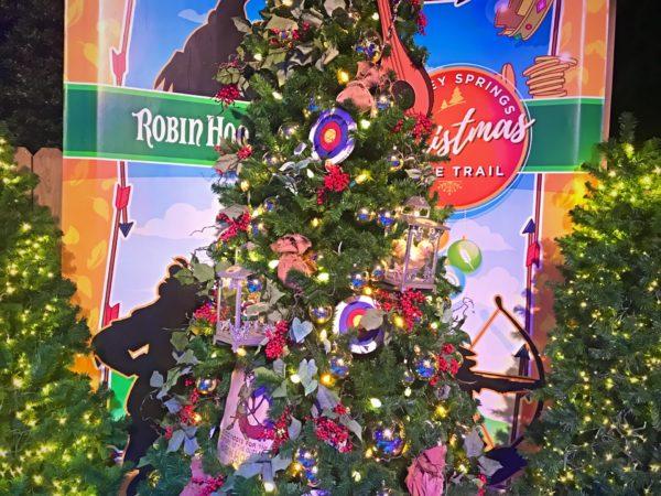 Robin Hood themed Christmas Tree.