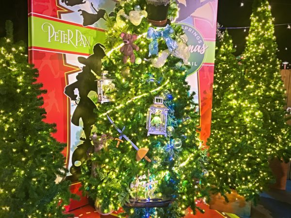 Peter Pan themed Christmas Tree.