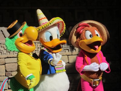 Say hello to the Three Caballeros!