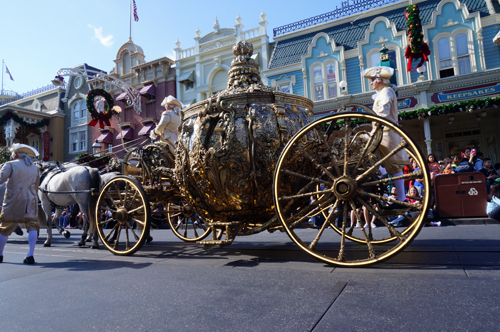 Be sure to stop by Hollywood Studios to see Cinderella's Golden Carriage.