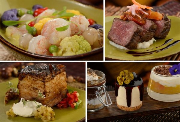Here is some of the food that you will enjoy at Circle of Flavors: Harambe at Night. Photo credits (C) Disney Enterprises, Inc. All Rights Reserved