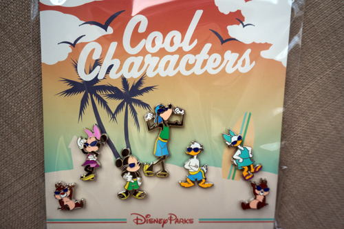 Cool characters are ready for some summer fun.