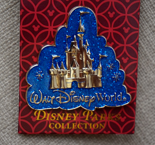 This beautiful pin features Cinderella Castle.