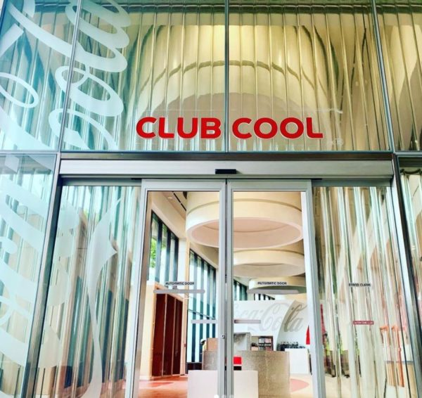 The new entrance to Club Cool looks, well, cool! Photo credits (C) Disney Enterprises, Inc. All Rights Reserved