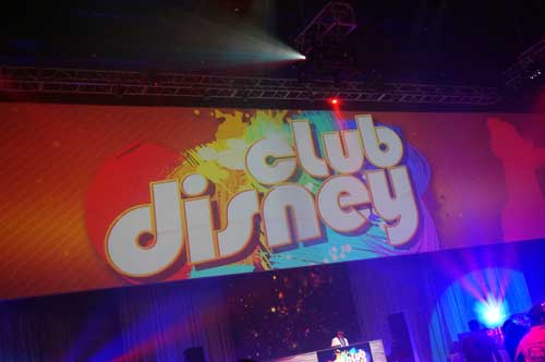Welcome to Club Disney - a dance party, Disney style.