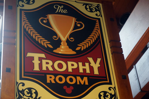Welcome to the Trophy Room.