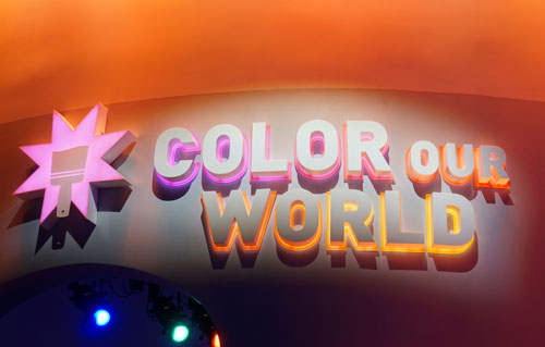 The best comes last - Color Our World.
