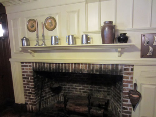 Columbia Harbour House fireplace.