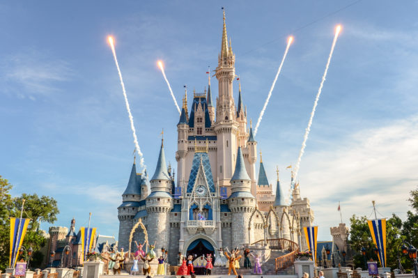 Castle stage shows are the best! Photo credits (C) Disney Enterprises, Inc. All Rights Reserved
