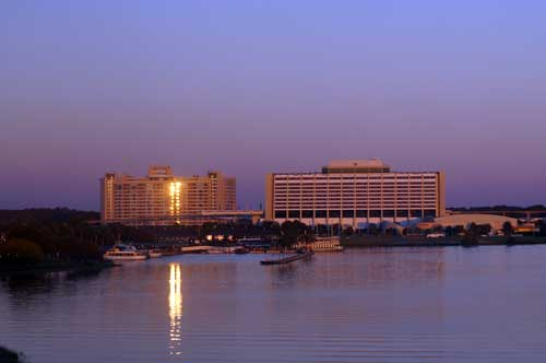 The Contemporary Resort is a look at the future.