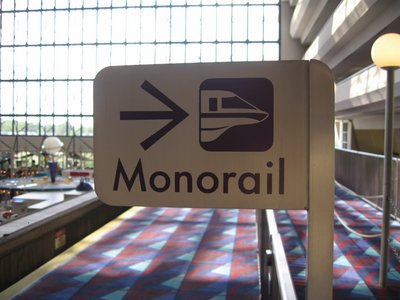Disneys Contemporary Resort Monorail Service