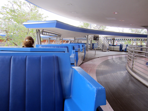 The People Mover is a great place to people watch!
