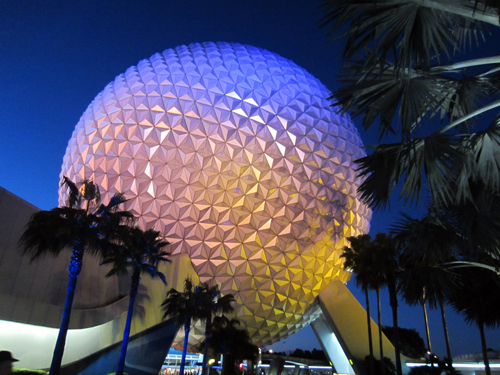 Spaceship Earth is an iconic location in Epcot.